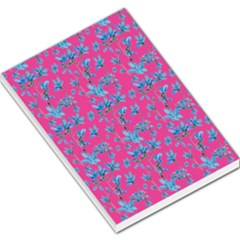 Floral Collage Revival Large Memo Pads
