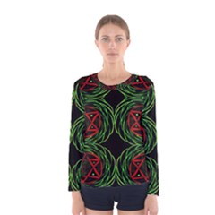 Venus Rotation Women s Long Sleeve Tee