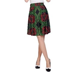 Venus Rotation A Line Skirt