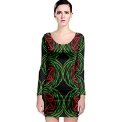 Venus Bus Long Sleeve Bodycon Dress