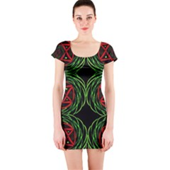 Venus Bus Short Sleeve Bodycon Dress