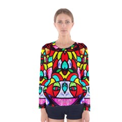Bi Polar Sun Women s Long Sleeve Tee
