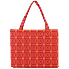 Peach Apricot Cinnamon Nutmeg Kitchen Modern Abstract Mini Tote Bag by DianeClancy