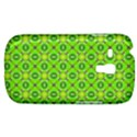 Vibrant Abstract Tropical Lime Foliage Lattice Samsung Galaxy S3 MINI I8190 Hardshell Case View1