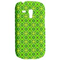 Vibrant Abstract Tropical Lime Foliage Lattice Samsung Galaxy S3 MINI I8190 Hardshell Case View2