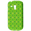 Vibrant Abstract Tropical Lime Foliage Lattice Samsung Galaxy S3 MINI I8190 Hardshell Case View3
