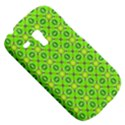 Vibrant Abstract Tropical Lime Foliage Lattice Samsung Galaxy S3 MINI I8190 Hardshell Case View5