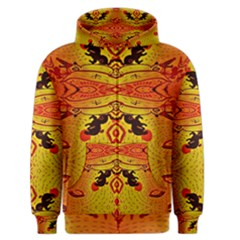 Green Sun Men s Zipper Hoodie