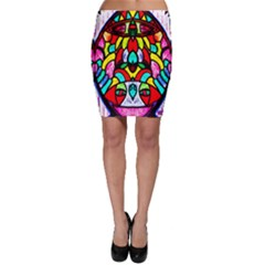 Sun Dial Bodycon Skirts