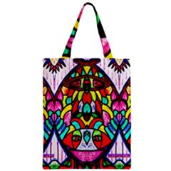 Sun Dial Zipper Classic Tote Bag