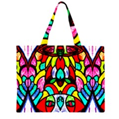 Sun Dial Zipper Large Tote Bag