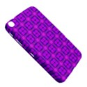 Abstract Dancing Diamonds Purple Violet Samsung Galaxy Tab 3 (8 ) T3100 Hardshell Case  View5