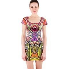 Last Of Short Sleeve Bodycon Dress