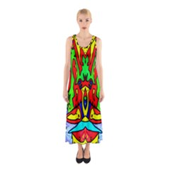 Knowledge Full Print Maxi Dress by MRTACPANS