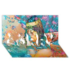 Star Illumination Sorry 3d Greeting Card (8x4)  by icarusismartdesigns