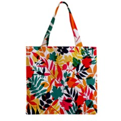 Seamless Autumn Leaves Pattern  Grocery Tote Bag by TastefulDesigns