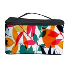 Seamless Autumn Leaves Pattern  Cosmetic Storage Cases