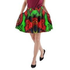 Faces A Line Pocket Skirt