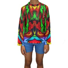 Faces Kid s Long Sleeve Swimwear