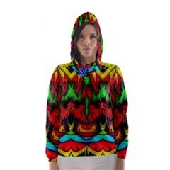 Faces Hooded Wind Breaker (women)
