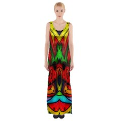 Faces Maxi Thigh Split Dress by MRTACPANS