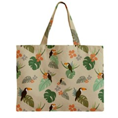Tropical Garden Pattern Mini Tote Bag by TastefulDesigns