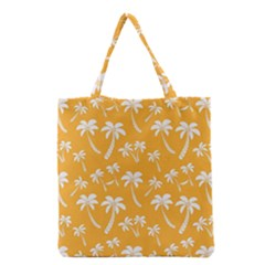 Summer Palm Tree Pattern Grocery Tote Bag