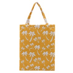Summer Palm Tree Pattern Classic Tote Bag