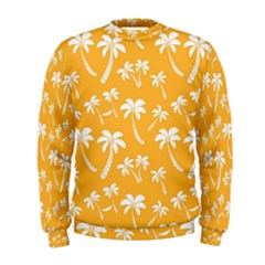 Summer Palm Tree Pattern Men s Sweatshirt