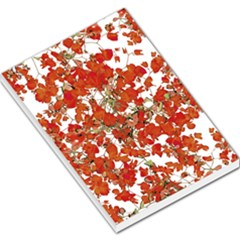 Vivid Floral Collage Large Memo Pads