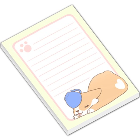 Corg By Starla   Large Memo Pads   5c3qwwn6mdzw   Www Artscow Com