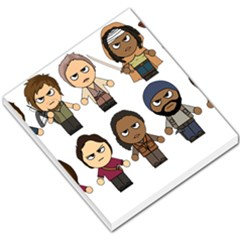 The Walking Dead   Main Characters Chibi   Amc Walking Dead   Manga Dead Small Memo Pads by PTsImaginarium