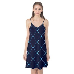 Seamless Geometric Blue Dots Pattern  Camis Nightgown
