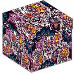 Ethnic Print Storage Stool 12   by TCH01