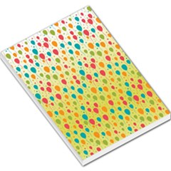 Colorful Balloons Backlground Large Memo Pads