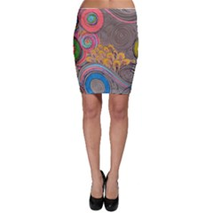 Rainbow Passion Bodycon Skirts by SugaPlumsEmporium