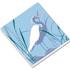Egret Small Memo Pads by WaltCurleeArt