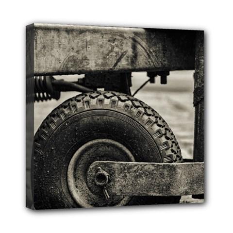 The Miserable Wheel Mini Canvas 8  X 8  by TastefulDesigns