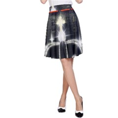 The King A Line Skirt by SugaPlumsEmporium