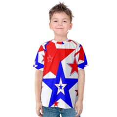 The Patriot 2 Kid s Cotton Tee by SugaPlumsEmporium