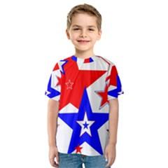 The Patriot 2 Kid s Sport Mesh Tee by SugaPlumsEmporium