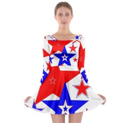The Patriot 2 Long Sleeve Skater Dress by SugaPlumsEmporium