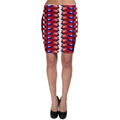 The Patriotic Flag Bodycon Skirts by SugaPlumsEmporium