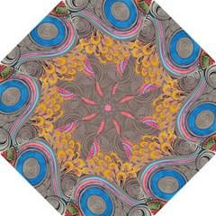 Rainbow Passion Folding Umbrellas by SugaPlumsEmporium