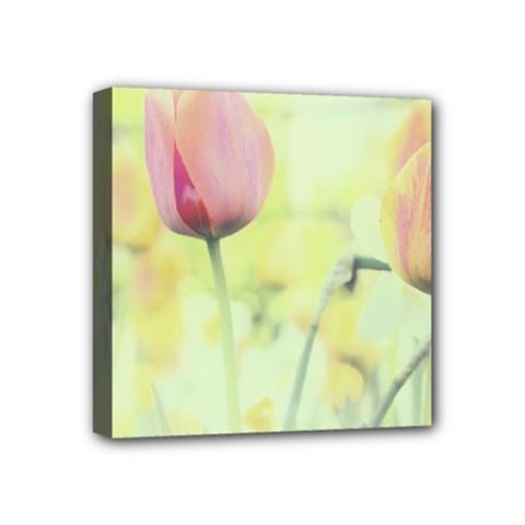 Softness Of Spring Mini Canvas 4  X 4  by TastefulDesigns