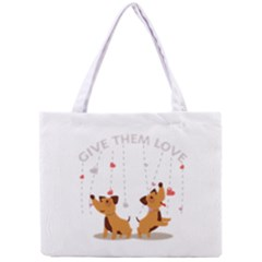 Give Them Love Mini Tote Bag