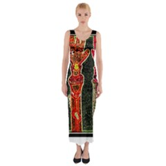 Hands Down! Fitted Maxi Dress by SugaPlumsEmporium
