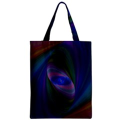 Eye Of The Galactic Storm Zipper Classic Tote Bag by StuffOrSomething