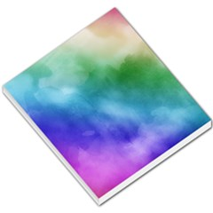 Rainbow Watercolor Small Memo Pads by StuffOrSomething