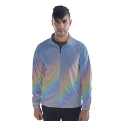 Colorful Natural Rainbow Wind Breaker (men) by yoursparklingshop